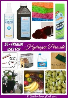 #35 unusual uses for  #Dollar Store Hydrogen Peroxide ! From Cleaning, home maintenance repairs, To Health And Beauty !! You will be AMAZED !!