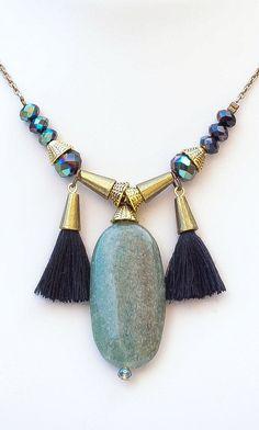 Jade Pendant by Mimi Scholer
