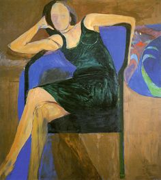 Richard Diebenkorn, Seated Woman