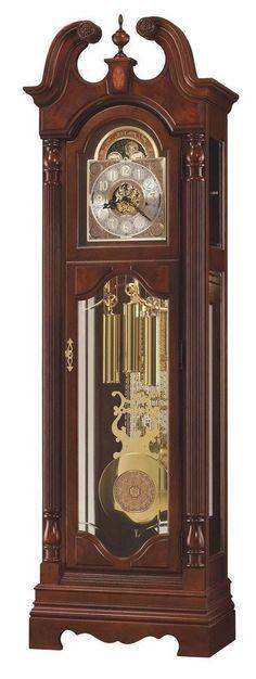 Howard Miller 611-194 86th Anniversary Beckett Windsor Cherry Grandfather Clock