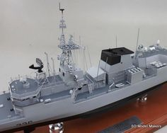 SD Model Makers > Frigate Models > Halifax Class Frigate Models Royal Canadian Navy, Ship Names, Shipping Crates, Model Maker, Work Horses, Paint Schemes, Display Case, Sd, At Least