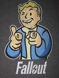 Fallout 4 Pip Boy Vault Tec War Cola New PS4 Xbox One Video Game Men s T Shirt | eBay