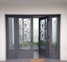 Foto de porta barata do ferro e projeto usado das portas for Puertas ratoncito perez baratas