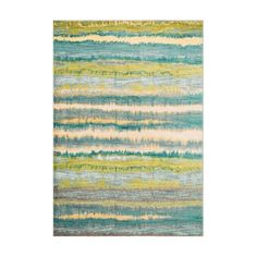 If you enjoy admiring artwork on the wall, you may want to consider as painterly masterpiece for your floor. From Egypt, these contemporary rugs have been inspired by Western European and South American watercolor paintings. And because they're power loomed of 100% polypropylene, a durable and stain resistant fiber, the colors will remain vibrant for years ahead.