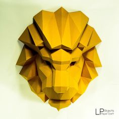 Fun DIY craft projects for any time of the year. Feb Our favorite DIY projects 3d Paper Crafts, Diy Paper, Fun Crafts, Paper Clay, 3d Models, Paper Models, Cardboard Mask, Paper Animals, Color Card