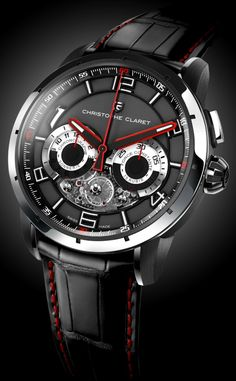 #product design #fashion #man accessories #watch - Christophe Claret Kantharos Watch Exclusive Debut