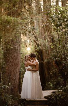 Forest Wedding, Woodland Wedding, Dream Wedding, Wedding Shit, Wedding Stuff, Elopement Inspiration, Wedding Photo Inspiration, Lesbian Wedding Photography, January Wedding
