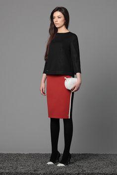 Эти джемпер и юбка просто созданы друг для друга - строго, но в то же время ультрасексуально! Costum, Style, Fashion, Swag, Moda, Fashion Styles, Fasion
