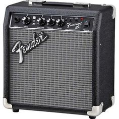 Fender Frontman Electric Guitar Amplifier Our Frontman amps deliver quality tone at a great price, with custom-voiced built-in overdrive for great tone and Electric Guitar And Amp, Fender Electric Guitar, Cool Electric Guitars, Prs Guitar, Guitar Amp, Cool Guitar, Acoustic Guitar, Fender Stratocaster, Fender Guitars