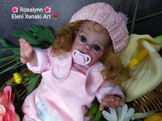 ImageShack - Rosalynn Elf Flower Fairy by Eleni Xenaki Soap Melt And Pour, Pure Soap, Luxury Soap, More Photos, Face And Body, Elf, My Etsy Shop, Crochet Hats, Fairy