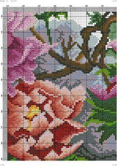 Gallery.ru / Фото #1 - 18 - kento Cross Stitch Bird, Cross Stitch Charts, Cross Stitch Patterns, Cross Stitch Magazines, Ribbon Embroidery, Needle And Thread, Make It Yourself, Map, Anna Lee