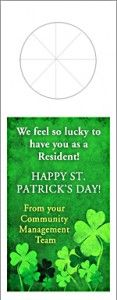 Article and Resources Resident Retention & Marketing Your Apartment Community with St. Patrick's Day Ideas