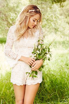 Lace Romper from the new LC Lauren Conrad Runway Collection.