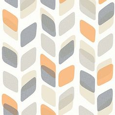 Galerie Unplugged Abstract Leaf Pattern Retro Geometric Vinyl Wallpaper (Grey Orange UN3002) Unplugged http://www.amazon.co.uk/dp/B01BGRIGV0/ref=cm_sw_r_pi_dp_kuu-wb1VJ7XG0