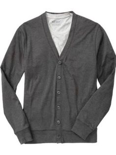 Old Navy Men`s Jersey Vneck Cardigans, idk y but im def on the cardigan band wagon