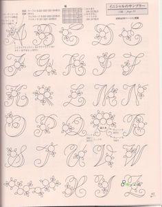 Wonderful alphabet to stitch