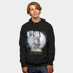 The Girl Who Waited hoodie #saqman http://geek.ragebear.com/govsq