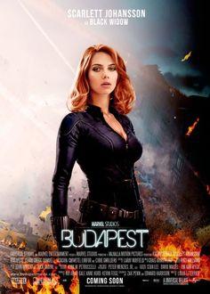 Fan poster for the Black Widow/Hawkeye