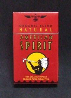 Embalagem de American Spirit