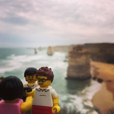 Les 12 apôtres et les 2 frangins  #australia #victoria #12apostles #12 #apostles #victoria #visitvictoria #greatoceanroad @visit12apostles @greatoceanroad #portcampbell #bro #brothers #familly by legocentric http://ift.tt/1ijk11S