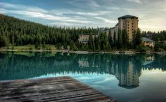The Chateau At Lake Louise | Banff National Park | Alberta | Canada | Photo By Len Saltiel
