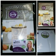 "Fun way to mail your Scentsy catalogs!   Just Google ""Crystal Clear Resealable Poly/Cello Bags Sleeves Self Seal"" and your catalogs are ready to go!  We use the 6 x 9 size.   On the back side use a half sheet of white paper for your return and customers address!"