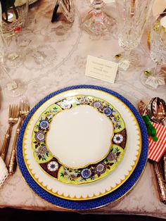 One of our bride's china selection. Available at Charles Mayer & Co