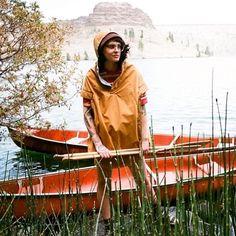 Poler Willow reversible poncho.   #poler #polerstuff #campvibes