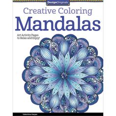 Design Originals Mandalas Creative Colouring Book For Grown Ups