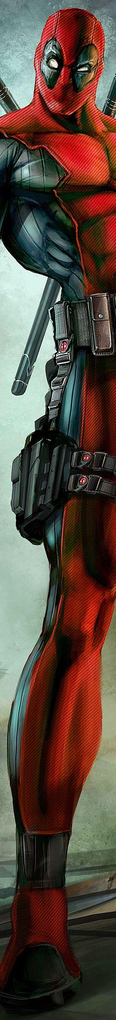 Deadpool/Wade - my liege! <3