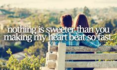 You got it right Scotty :) Nothing is. Nothing in the the whole world is sweeter than that feeling. <3