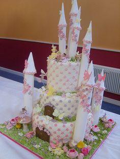 Castle cake side | by elizabethscakeemporium