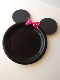 Minnie Mouse Birthday Party Plates,