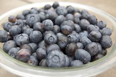 Healthy blueberry crumble recipe using coconut oil and chia seeds (score!). This site has other great recipes as well.