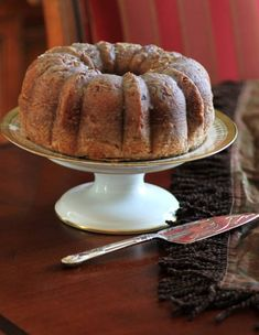 Rum Pecan Bundt by Noshing With The Nolands, is a traditional cake for anytime of the year! Bundt Pound Cake Recipe, Pound Cake Recipes, Cupcake Cakes, Bundt Cakes, Cupcakes, Butter Pecan Cake, Family Cake, Rum Cake, Traditional Cakes