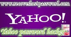 What to do when you forgot Yahoo password? You will need a Yahoo password hacker.