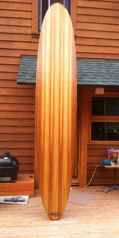 wooden stand up paddle board - I want one of these one day!