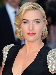 """Celebrity Anti-aging Advice:  """"I'm baffled that anyone might not think women get more beautiful as they get older. Confidence comes with age, and looking beautiful comes from the confidence someone has in themselves."""" —Kate Winslet 