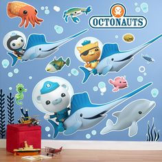 octonauts bedroom wallpaper