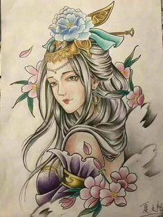 Japanese Tattoo Art, Japanese Tattoo Designs, Samurai Tattoo, Yakuza Tattoo, Mini Tattoos, Leg Tattoos, First Time Tattoos, Freedom Tattoos, Japan Tattoo