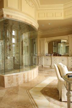 Master Bath Schaerer Architextural Interiors  -           See more of the story  http://pubs.royle.com/publication/?i=199600&p=48
