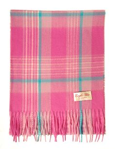 Blue and Pink Check Cashmere - Google Search