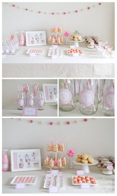 a little delightful: Chloe's 1st Birthday - Polka Dot Party - Part 1