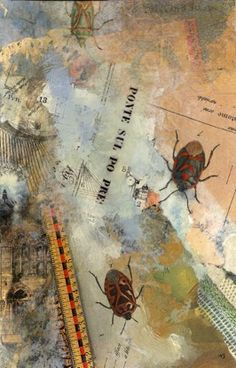 """""""Ponte Sul"""" by bestselling author and artist Nick Bantock. See his interview on www.ArtsyShark.com"""