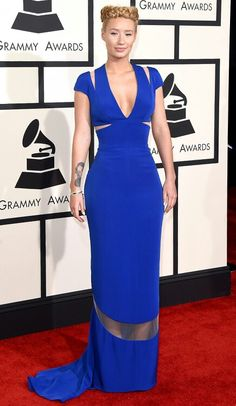 Fall in love with Iggy Azalea ' s dress at the grammys