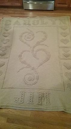 23 Wedding Afghan 2 Pattern By Nancy Liggins Crochet Knit