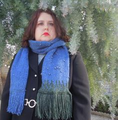 Game Knit X-Files Scarf
