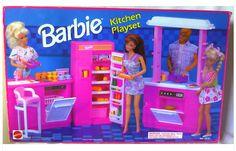 barbie kitchen playset 1992 - Google Search