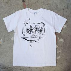 T-shirts/white - ・