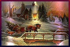 Přání přáníčka Nový rok - k novému roku - Kotanec.cz - zábava na internetu Just Magic, Christmas Time, Scenery, Painting, Art, Art Background, Landscape, Painting Art, Kunst
